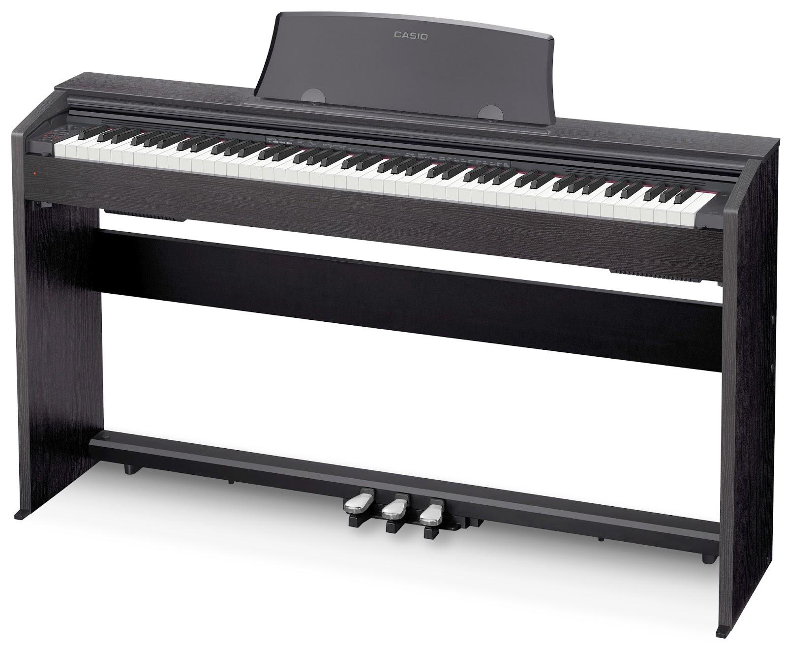 Цифровое фортепиано Casio Privia PX-770BK: фото